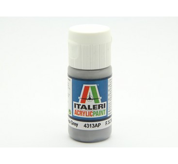 Italeri Acrylic Paint - Flat Medium Sea Grey (4313AP)