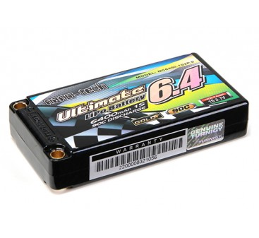 Turnigy nano-tech Ultimate 6400mah 1S2P 90C Hardcase Pack (ROAR & BRCA Approved)