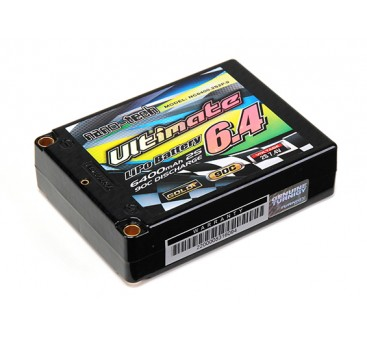 Turnigy nano-tech Ultimate 6400mah 2S2P 90C Hardcase Lipo Square Pack