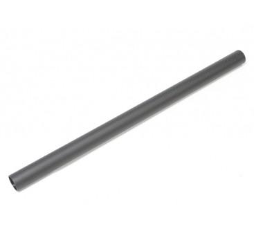 30 x 27 x 520mm Carbon Fibre Tube (3K) Plain Weave Matt Finish