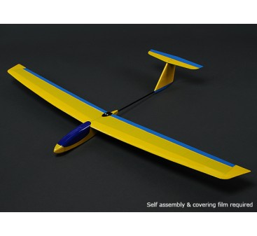 HobbyKing™ Guppy Mini Slope Glider Balsa 1165mm (KIT)