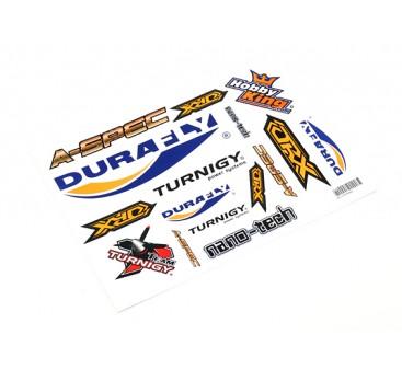 HobbyKing Sticker Sheet - Plane