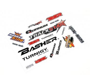 HobbyKing Sticker Sheet - Cars