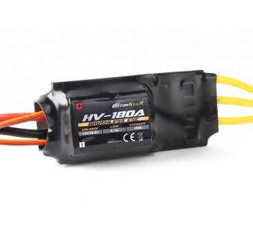 RotorStar 180A HV (4~14S) Brushless Speed Controller (OPTO)