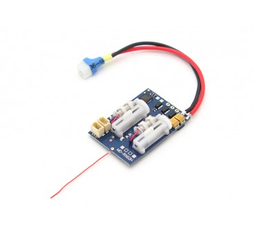 2.4Ghz SuperMicro Systems - DSM2 Compatible Receiver w/ Brushless ESC, Linear Servos
