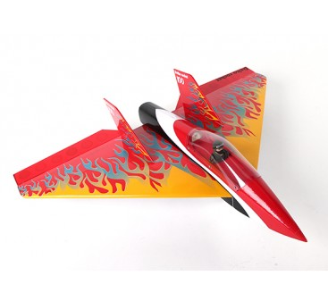Delta Rocket High Speed Wing - Red 640mm (ARF)