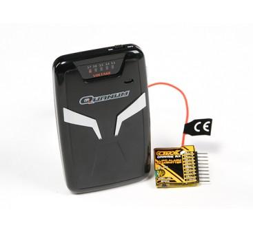 Quanum Pocket Vibration Telemetry Voltage Meter with Alarm (915Mhz FM)