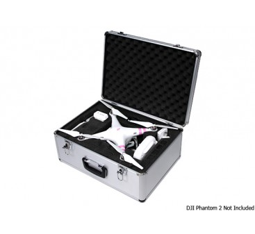 Aluminum Carrying Case for DJI Phantom and Phantom 2 Quadcopter