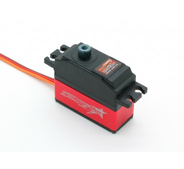 TrackStar TS-P12S High Speed Digital 1/12 Scale Pan Car Steering Servo 25T 3.6kg / 0.05sec / 28g