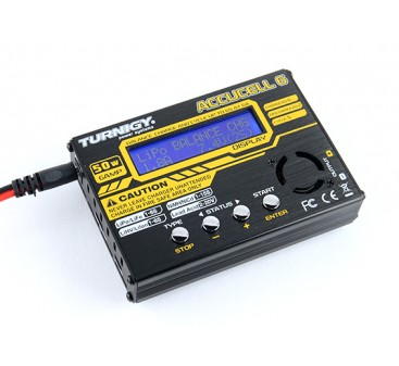 Turnigy Accucell-6 50W 6A Balancer/Charger LiHV Capable