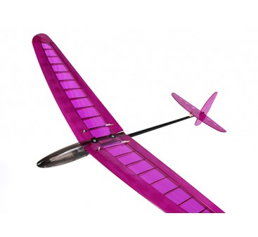 HobbyKing™ Mini DLG Pro w/Ailerons Balsa - Purple 990mm (PNF)