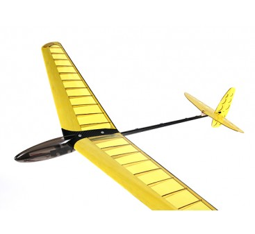 Mini DLG Composite Discus Launch Glider - Yellow  950mm (PNF)