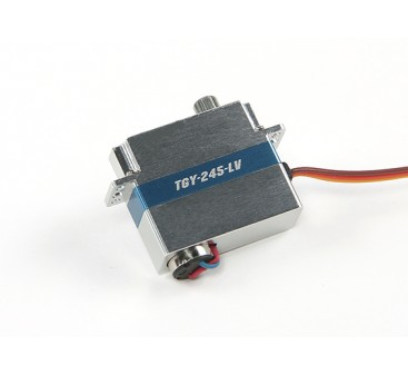Turnigy™ TGY-245-LV Low Voltage DLG Wing Servo w/Alloy Case 1.4kg / 0.12sec / 8.6g