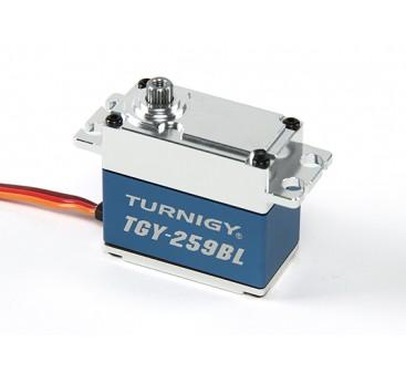 Turnigy™ TGY-259BL Brushless High Torque DS Servo w/Alloy Case 16kg / 0.09sec / 70g
