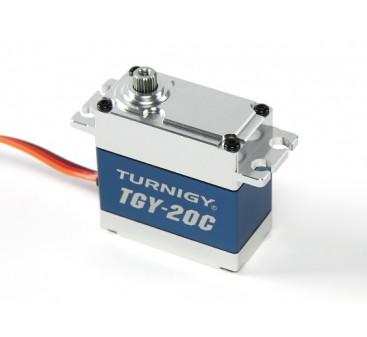 Turnigy™ TGY-20C High Torque DS/MG Servo w/Alloy Case 40kg / 0.18sec / 78g
