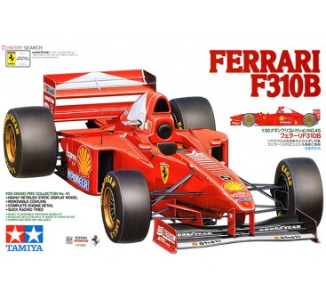 Tamiya 1/20 Scale Ferrari F310B Plastic Model Kit