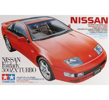 Tamiya 1/24 Scale Nissan 300ZX Turbo Plastic Model Kit