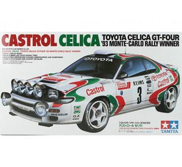 Tamiya 1/24 Scale Castrol Celica (P) Plastic Model Kit