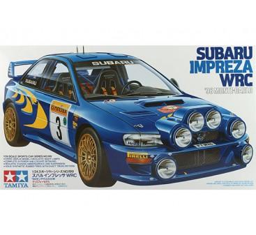 Tamiya 1/24 Scale Subaru Impreza WRC98 - Monte Carlo Plastic Model Kit