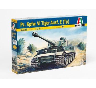 Italeri 1/35 Scale Tiger I Ausf. E/H1 Vehicle Model Kit