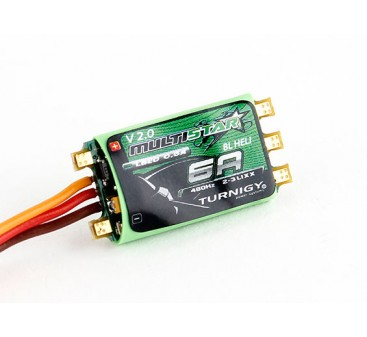 Turnigy Multistar 6A V2 ESC With BLHeli and BEC 2-3S