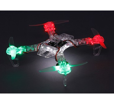 HobbyKing FPV250 Ghost Edition LED Night Flyer FPV Drone