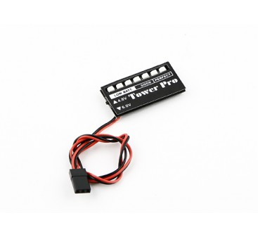 LED Receiver Voltage Monitor