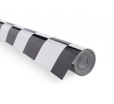Covering Film Grill-Work Black/White (5mtr) 402