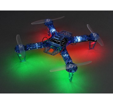 HobbyKing FPV250 V4 Blue Ghost Edition LED Night Flyer FPV Drone (Blue) (Kit)