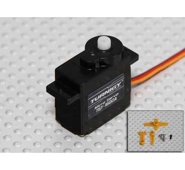 Turnigy™ TGY-1600A Micro Analog Servo 1.2kg / 0.10sec / 6g