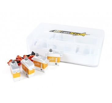 RotorStar RS-2130MGC/RS-3870MGT Servo Combo Pack suits 450 size Helicopters
