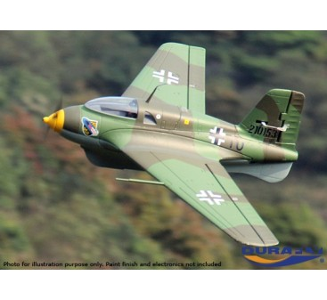 Durafly™ Me-163 Komet 950mm High Performance Rocket Fighter (Unpainted Kit Edition)