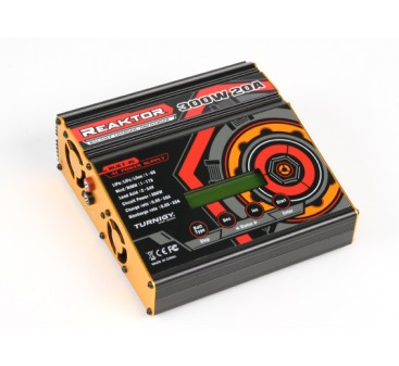 Turnigy Reaktor 300W 20A AC/DC Synchronous Balance Charger / Discharger (EU Plug)