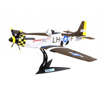 "North American P-51D Mustang ""Janie"" 680mm 4 Channel Scale Fighter"