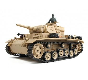 Tauch Panzer III Ausf.H RC Tank RTR w/ Airsoft/Smoke & Tx (US plug)