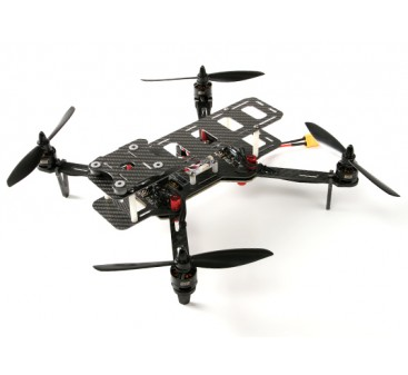 DYS 320 Full Carbon Fiber Folding Quadcopter With Storage Case (PNF)