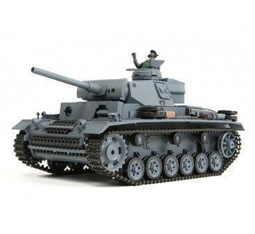 Panzer Kampfwagen III Ausf.L RC Tank RTR w/ Airsoft & Tx (US plug)