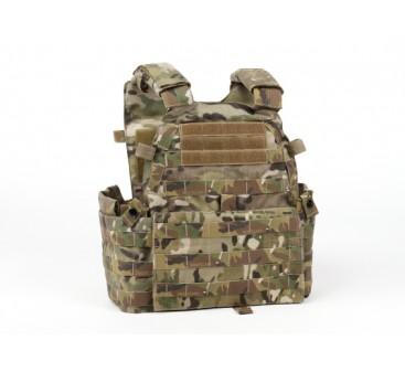 SWAT V6094 Vest with dummy plate (MultiCam)