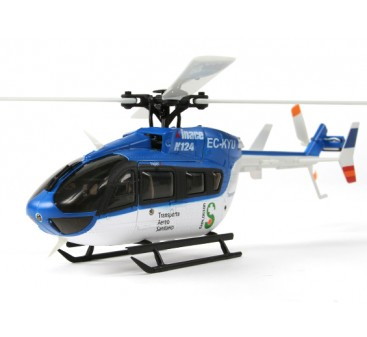 K124 B&F Scale 6CH 3D Eurocopter Helicopter (Futaba FHSS Compatible)