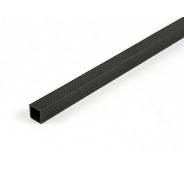 Carbon Fibre Square Tube 15 x 15 x 600mm