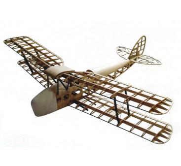 De Havilland DH82a Tiger Moth Biplane 1400mm Laser Cut Balsa (Kit)