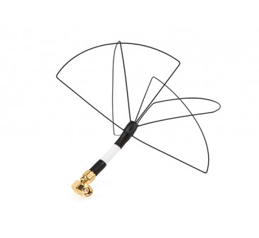 Circular Wireless Skew Planar Wheel Antenna for 1.2GHz Transmitters (RHCP SMA)