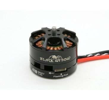 Black Widow 4110-690Kv With Built-In ESC CW/CCW