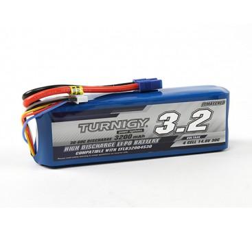 Turnigy 3200mAh 4S 30C LiPoly Pack w/ EC3 (E-flite Compatible EFLB32004S30)