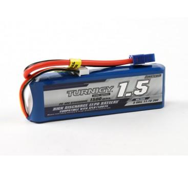 Turnigy 1500mAh 3S 20C LiPoly Pack w/ EC3 (E-flite Compatible)