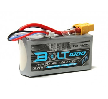 Turnigy Bolt 1000mAh 3S 11.4V 65~130C High Voltage Lipoly Pack (LiHV)