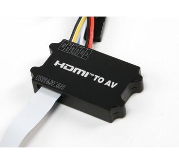 Universal HDMI to AV converter