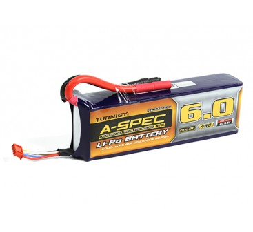 Turnigy nano-tech A-SPEC G2 6000mah 4S 45C Lipo Pack