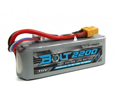 Turnigy Bolt 2200mAh 3S 11.4V 65~130C High Voltage Lipoly Pack (LiHV)