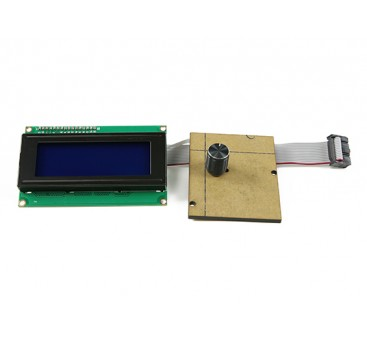 Print-Rite DIY 3D Printer- LCD Panel without Casing